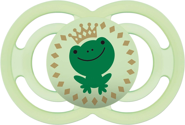 MAM Perfect 6+, Chupete fisiológico para un sano desarrollo dental, chupete de silicona extra fino y flexible, chupete MAM con escudo anti irritaciones, 6+ meses, verde: Amazon.es: Bebé