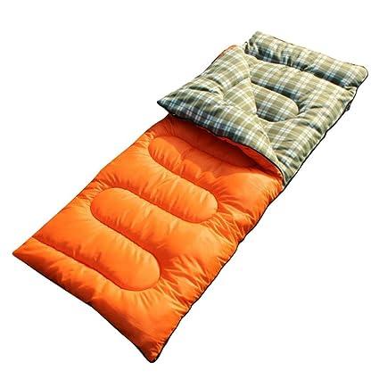 Saco de dormir para acampada al aire libre, para adultos, primavera y otoño,