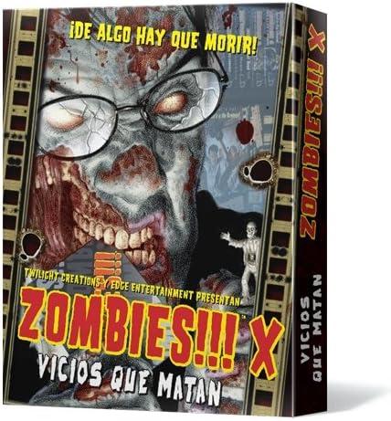 Edge Entertainment- Vicios que matan (EDGTC10) , color/modelo surtido: Amazon.es: Juguetes y juegos