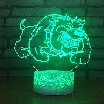 Optique Lampe Acrylique 3d Couleurs Yoppg Illusion 7 Veilleuse Led LSMpqVzUG