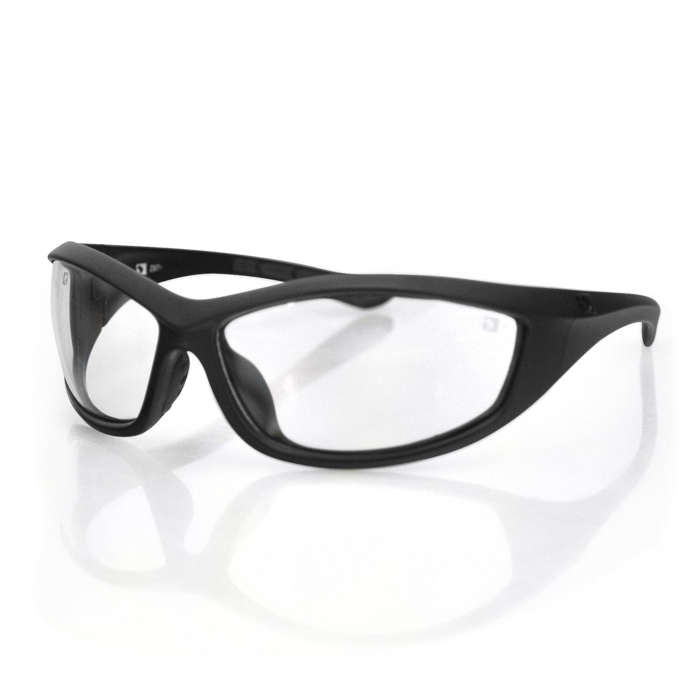 Bobster 4014127 Zulu Ballistics Eyewear-Black Frame-Anti-Fog Clear