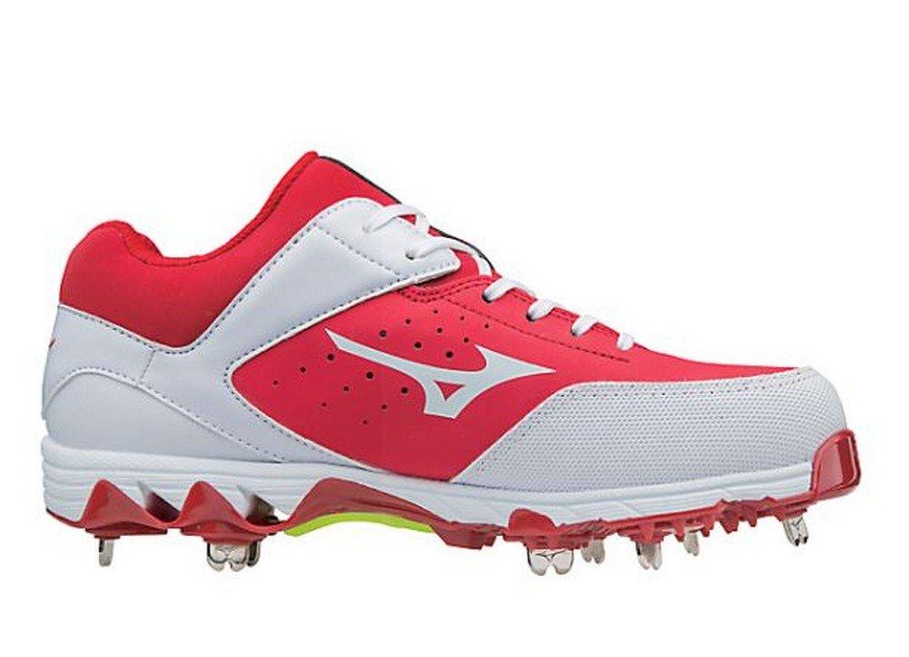Mizuno Women's Swift 5 Fastpitch Cleat Softball Shoe B071ZRML52 9.5 B(M) US|Red/White