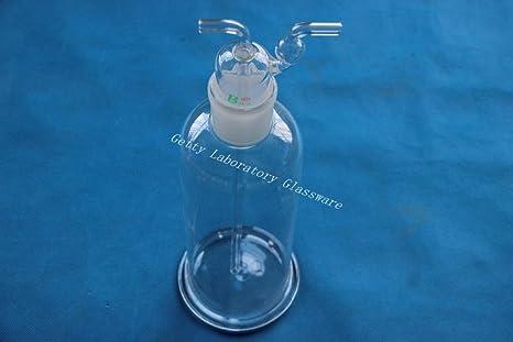 1000 ml Lab cristal gas botella de lavado