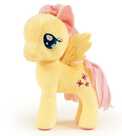 amazon com my little pony 5 inch plush fluttershy toys games