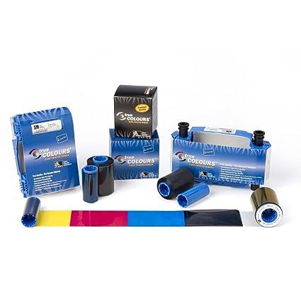 Zebra Full Color Printing, YMCKK ribbon cinta para impresora 500 ...