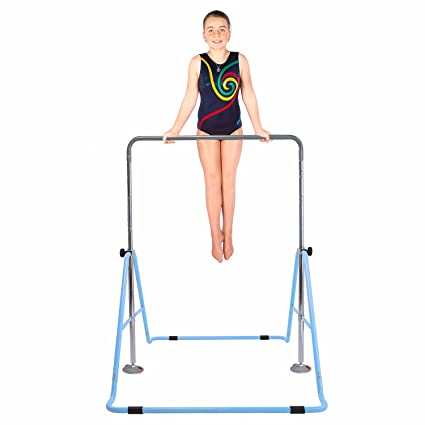 b85958133362 Safly Fun Gymnastics Bars Expandable Children's Training Monkey Folding Bars  Climbing Tower Child Play Training Gym