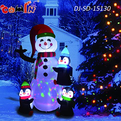 Led Light Snowman Craft in US - 7