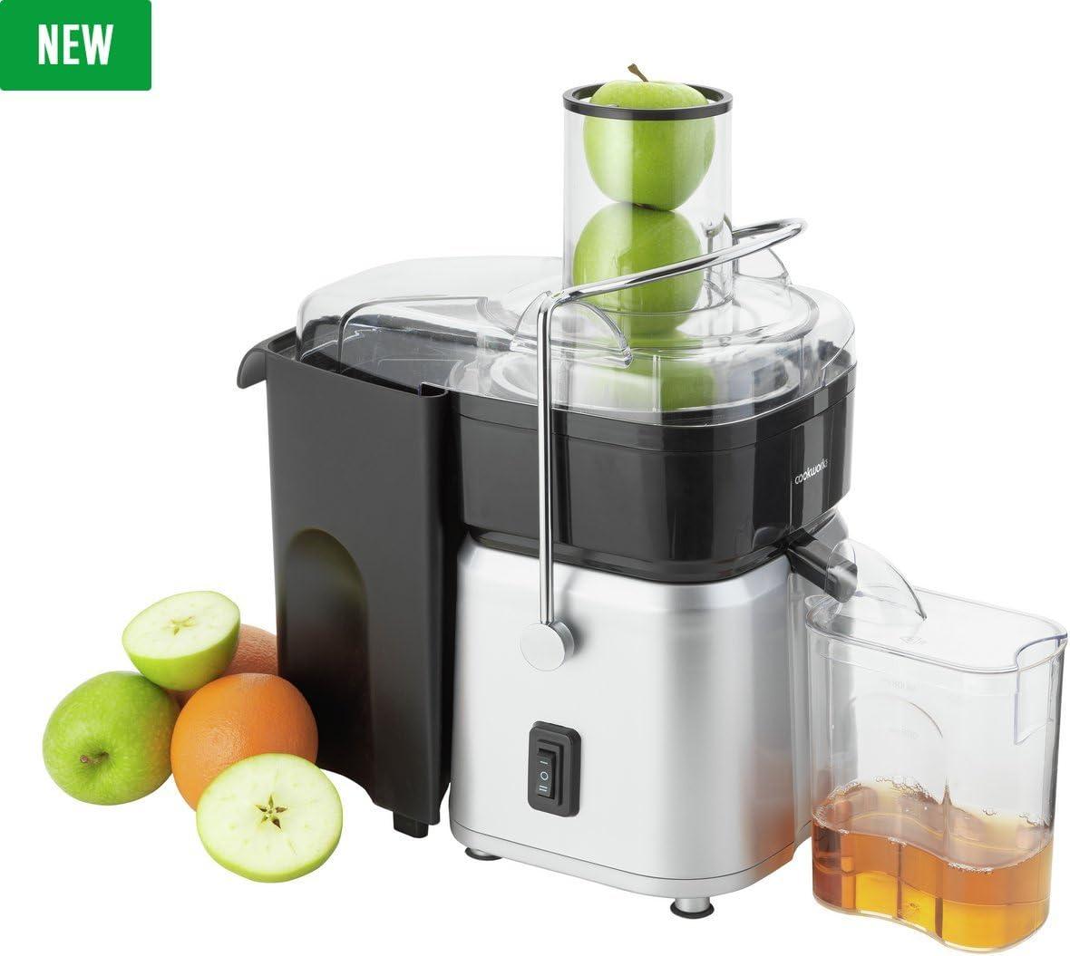 Cookworks Whole 700 Watts Fruit Juicer StSteeL
