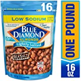 Blue Diamond Almonds, Low Sodium Lightly Salted, 16 Ounce