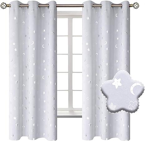 Toddler Curtains Nursery Curtains Stars Window Curtains Custom Curtains Custom Size Curtains Rod Pocket Curtains Kids Curtains
