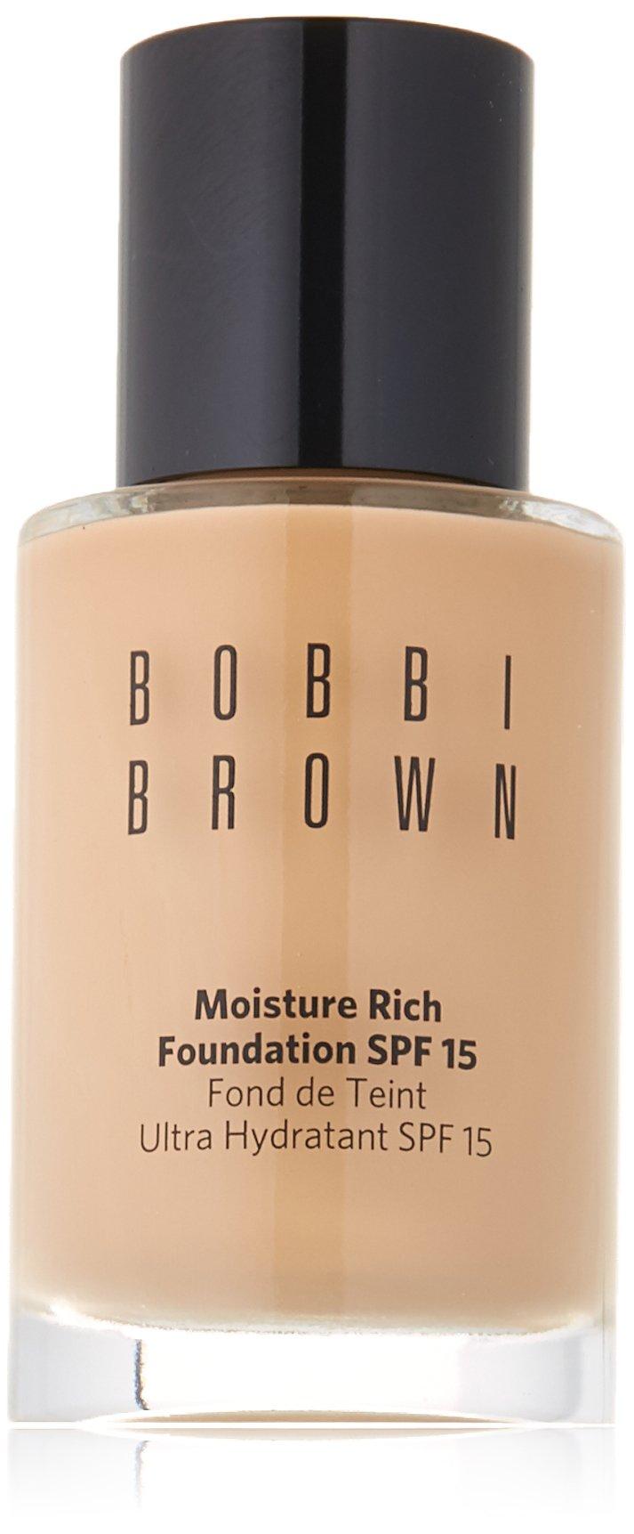Bobbi Brown Moisture Rich Foundation SPF15, No. 3 Beige, 1 Ounce