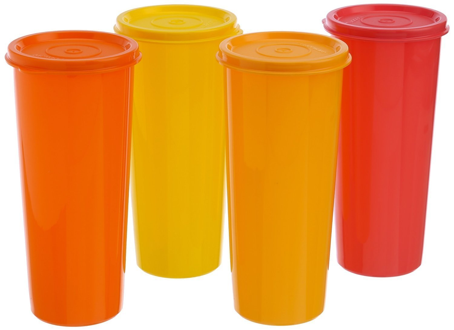 Tp 640 t212 tupperware jumbo tumblers set of 4 home for Botellas tupperware amazon