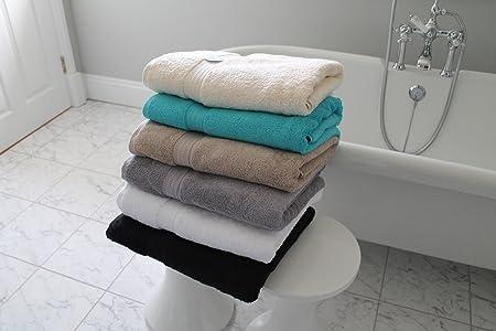 Cazsplash - Toallas de baño (algodón orgánico, 250 x 170 cm ...