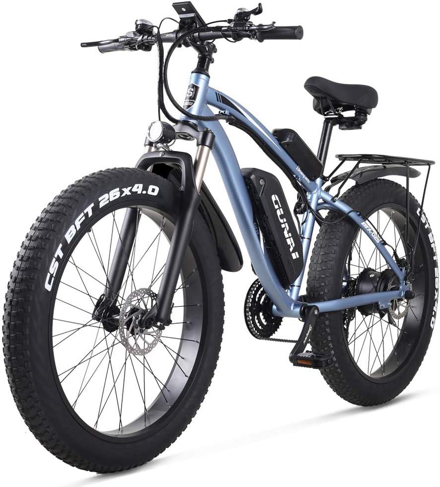 <br /> GUNAI Bicicleta Eléctrica Fat Bike