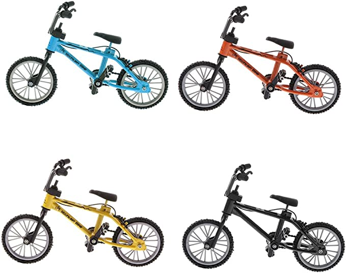 Hot Mini Finger Alloy Bicycle Model Toy Mountain Bike Board Novelty Game Playset