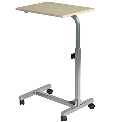 Coavas Laptop Desk Medical Adjustable Height Overbed Table Multi Purpose Portable  Computer Desk Bed Sofa