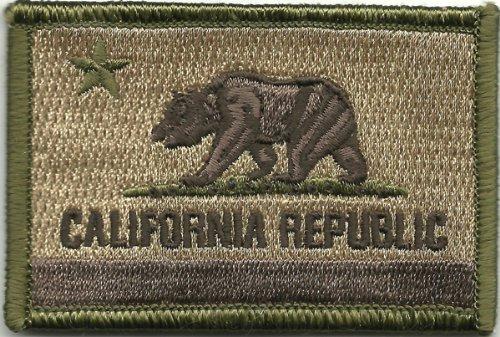 California Tactical Patch - Multitan