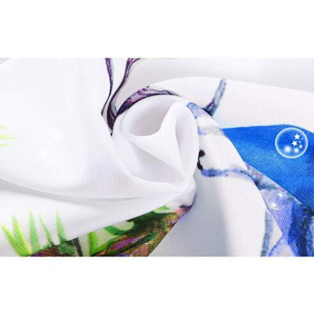 Facile da Pulire LGRONG Tovaglia Quadrata Impermeabile e antivegetativa tovaglia in Poliestere 10 40x40 cm con Stampa di Orologi