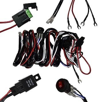 Kabelbaum Kabelsatz Ersatz mit Schalter Sicherung DC 12V 40A für 1x ...