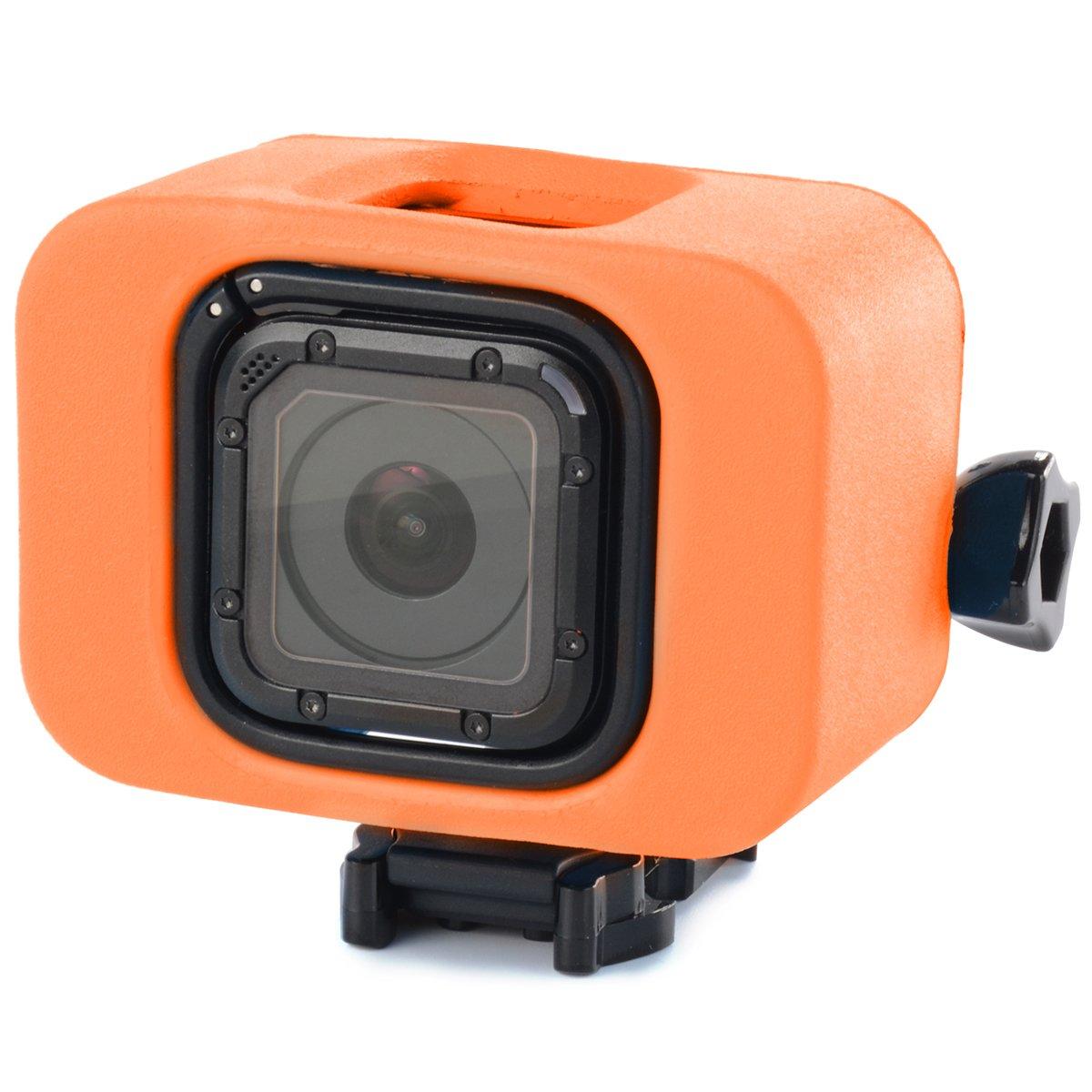 maxpremier (TM) agua flotador flotador Surf funda protectora para GoPro Hero 4 Sesión Cam OS455: Amazon.es: Electrónica