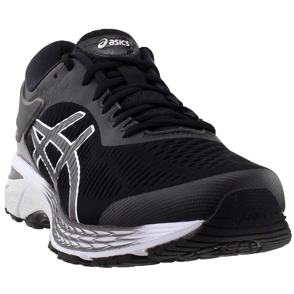 ASICS Gel Kayano 25 Men's Running Shoe, Black/Glacier Grey, 6 D US
