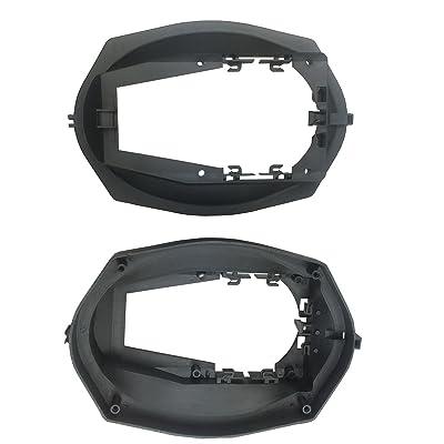 "DKMUS Car Speakers Adaptor for BMW 3 Series E36 1991-1998 Rear Speaker Adapter 6""x9"" Rings Brackets 1 Pair"