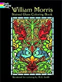 img - for William Morris Stained Glass Coloring Book (Dover Design Stained Glass Coloring Book) book / textbook / text book