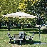 Invezo Impression Luxury Side Pole Heavy duty Umbrella-Garden Umbrella/Patio Umbrella/Outdoor Umbrella with Base