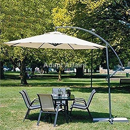 Invezo Impression Luxury Side Pole Heavy Duty Umbrella Garden Umbrella/Patio  Umbrella/Outdoor