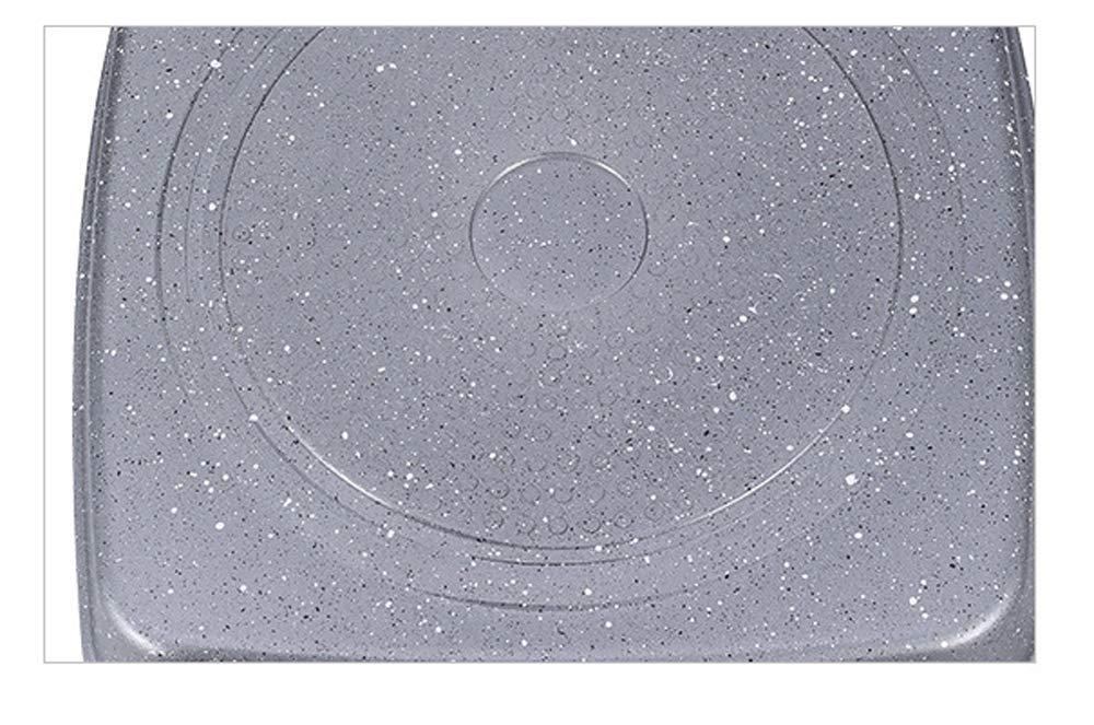 PDG Alta calidad Sartén de Aluminio Fundido Sartén Multiuso Sartén Todo en Uno Sartén Antiadherente 3 en 1 para Sartén Parrilla para Desayuno: Amazon.es: ...