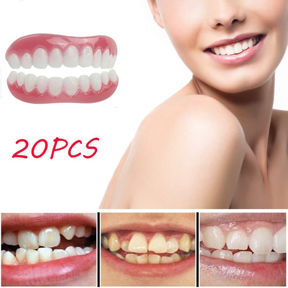 大好き 完璧な笑顔義歯20PCSコンフォートソフトベニヤベニヤ ...