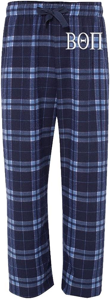 Sorority Letters Shop Beta Theta Pi Flannel Pajama Pants