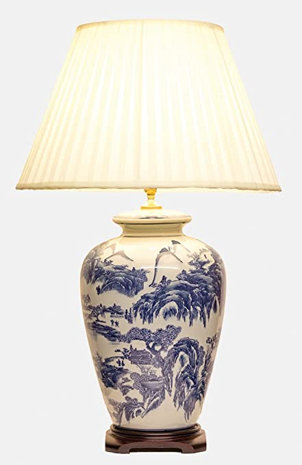 Uks largest range of oriental lamps large oriental ceramic table lamp m8990