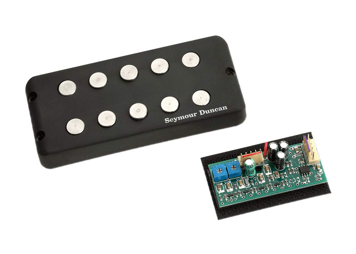 amazon com: seymour duncan smb-5s music man 5-string pickup w/ stc3m4  preamp set new: musical instruments