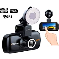 Eachpai 3 LCD 1080p Dash Built-in GPS Dashboard Camera