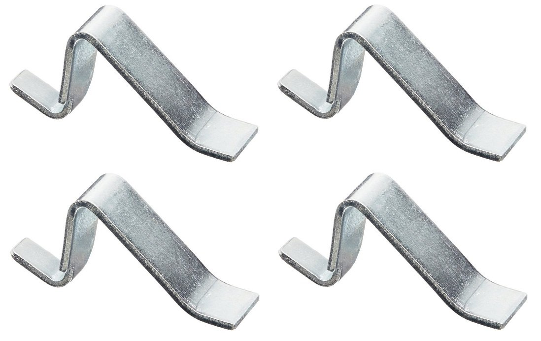 Sandusky Lee SCLIPSTR Standard Shelf Clip (4 X Pack of 4)