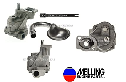 New High Volume Oil Pump Kit compatible with 1993-2002 Vortec Chevy sb 350  305 265 With 3/4