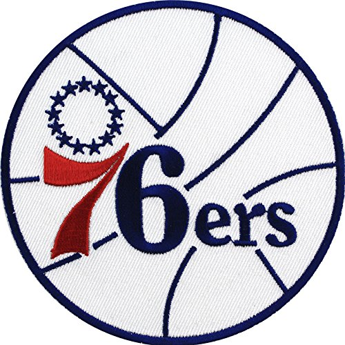 NBA Philadelphia 76ers Embroidered Team Logo Collectible - Patch Nba Team