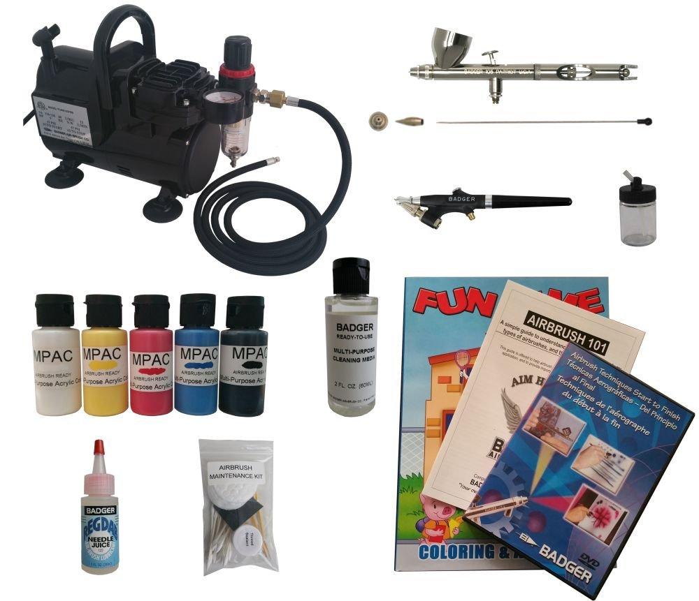Badger Air-Brush Co. Multi Airbrush Starter System