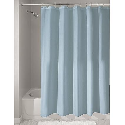 Amazon InterDesign Mildew Free Water Repellent Fabric Shower