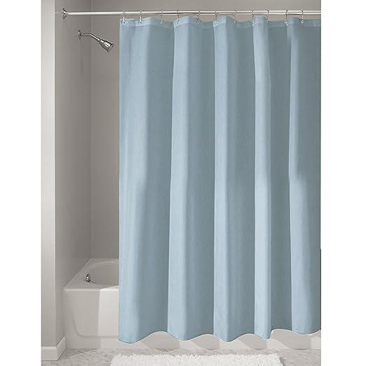 28 opinioni per InterDesign Tenda doccia in tessuto, Tende per doccia in poliestere con orlo