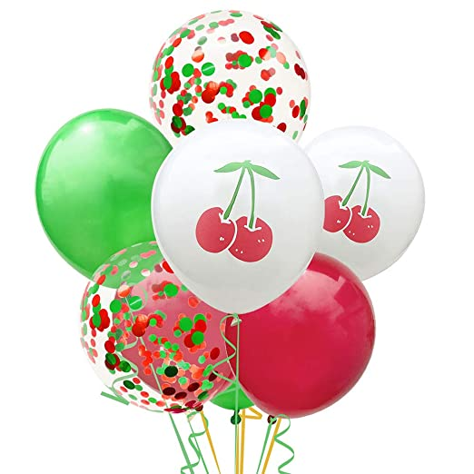 NUOBESTY - Globos de látex para fiesta de cumpleaños de ...