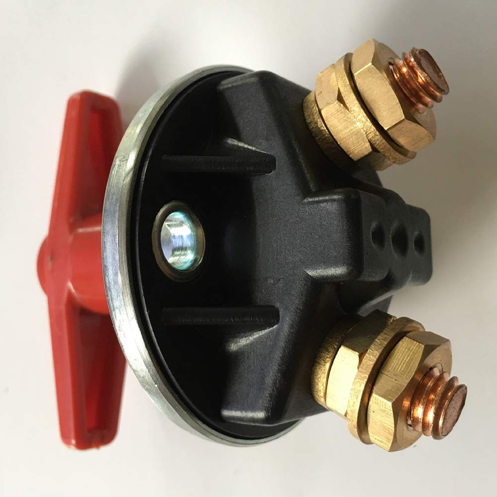 difcuyg5Ozw Large Current Vehicle Battery Isolation Disconnect Power Kill Switch Copper Durable Car Truck Switches