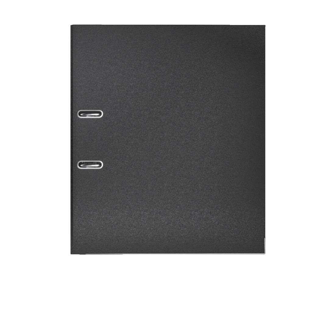 Leitz 10155095 - Archivador plástico 180° con anillas A4 color negro: Amazon.es: Oficina y papelería