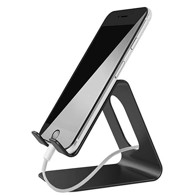 amazon com cell phone stand lobkin metal phonetablet cradle rh amazon com