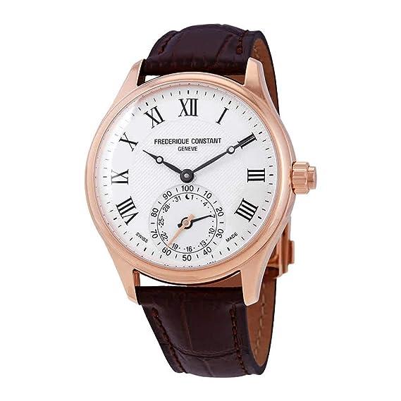 Frederique Constant Smartwatch Reloj de Hombre Cuarzo Suizo 42mm FC-285MC5B4: Amazon.es: Relojes