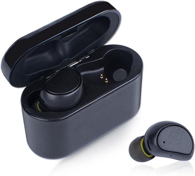 Bluetooth 5.0 HiFi Mini Est/éreo In-Ear Earbuds Headphones Bluetooth con IP7 Impermeable Y Micr/ófono Integrado 40h Reproducci/ón para Deportivos Running Auriculares Inalambricos