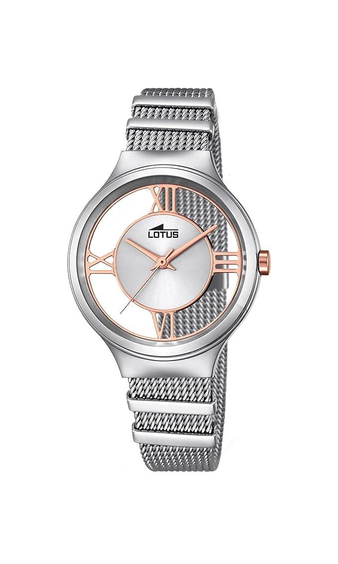 Lotus 18331/1, Reloj de pulsera, plateado