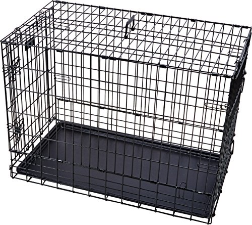 Midwest Solutions Series (Solution Series Double Door Folding Metal Dog Crate for SUVs & Vehicles)