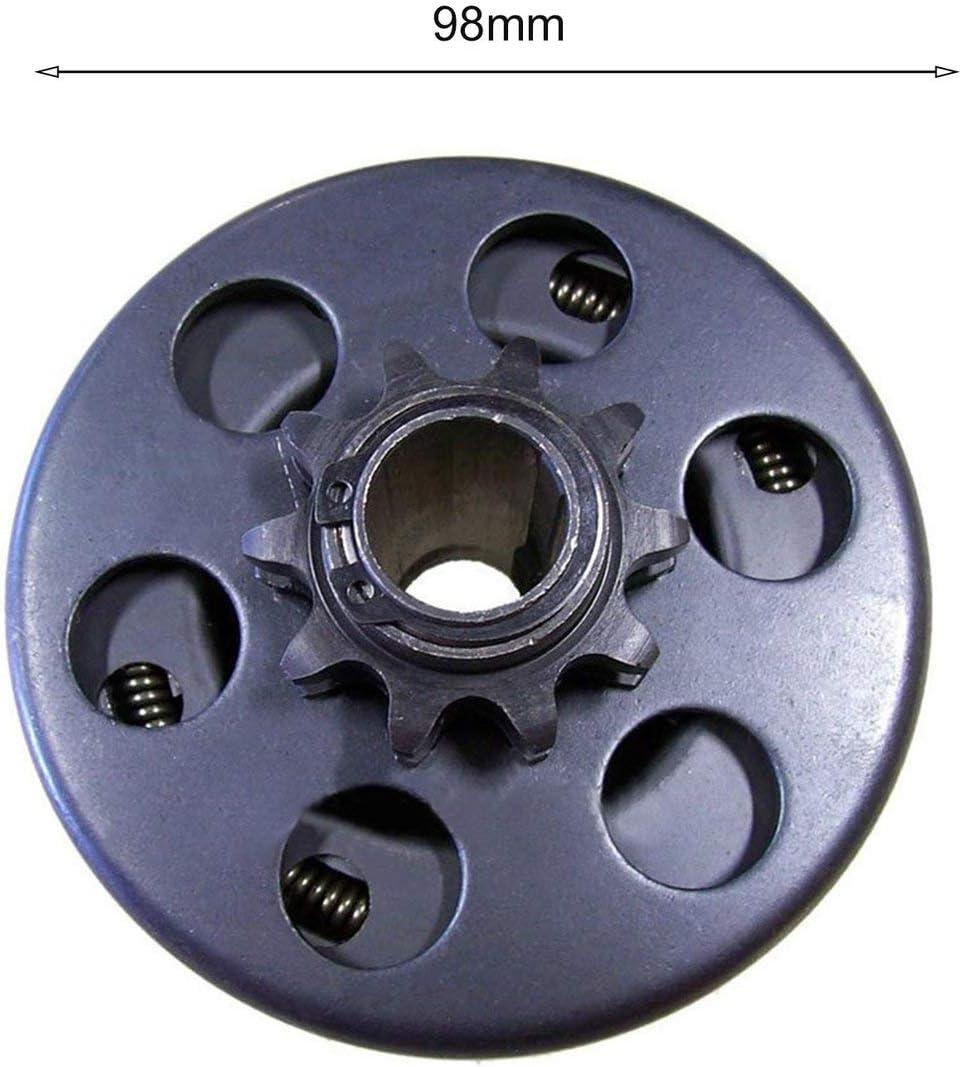 Silver Embrayage centrifuge professionnel 3//4al/ésage 10 dents avec cha/îne 40//41//420 Go Kart Mini Bike Small Bike Parts Heavy Duty